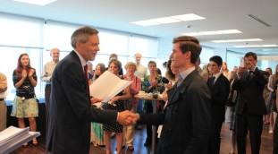 Awarding German Language Diplomas 2015